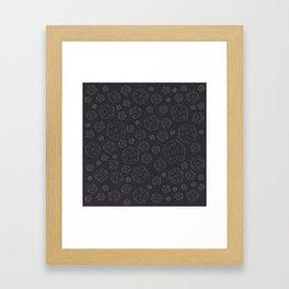 Space Rocks (Patterns Please) Framed Art Print