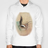 all seeing eye Hoodies featuring All Seeing Eye by Fran Walding
