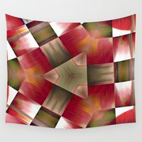 pyramid Wall Tapestries featuring Pyramid by Deborah Janke