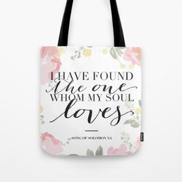 Song of Solomon 3:4 Tote Bag
