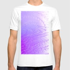 EntIcing Mens Fitted Tee SMALL White