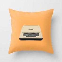 Apple IIe Throw Pillow