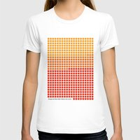 rothko T-shirts featuring Orange and Yellow (Mark Rothko) color-sorted by Clemens Hellmund