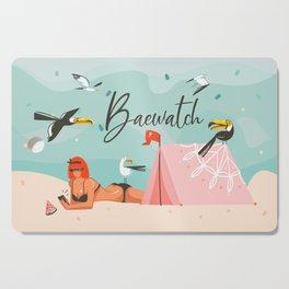 Baewatch Cutting Board