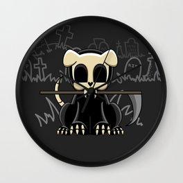 Grim Reapets - A Dog Named Decay - Halloween Doggo Wall Clock