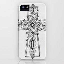 Stone Celtic Cross iPhone Case