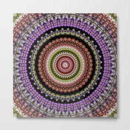 Flower mandala 51 Metal Print