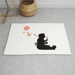 Banksy Bubbles Rug