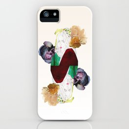 GIRL AND FLOWERS iPhone Case