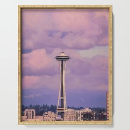 Seattle Space_Needle Serving Tray