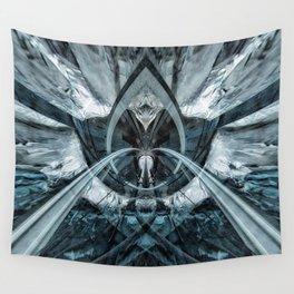 Geometric Art - FREEZE Wall Tapestry