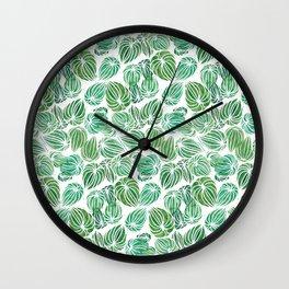 Peperomia my love Wall Clock