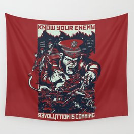 Know your enemy Wall Tapestry