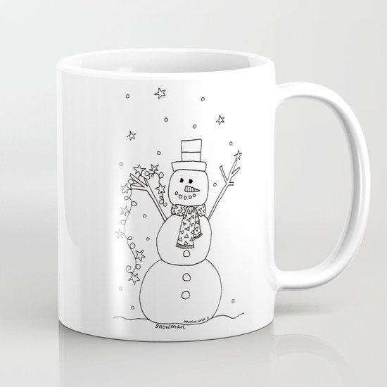 The Magical Snowman Mug
