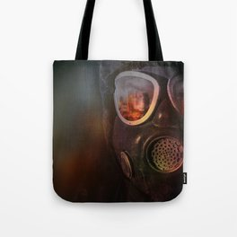 Fire in the eyes Tote Bag
