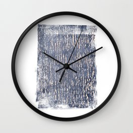 Just Indigo & Blush Wall Clock