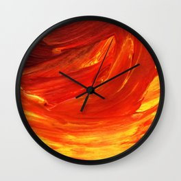 Lapeda Textile Art - 21 Wall Clock