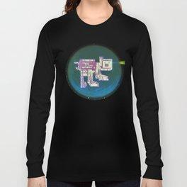 Spatial Bot Dog Long Sleeve T-shirt