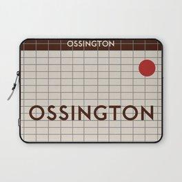 OSSINGTON   Subway Station Laptop Sleeve