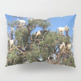 Goats in a tree Pillow Sham