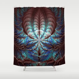 Nature in our Veins Shower Curtain