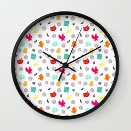 Volley Allstars! Wall Clock