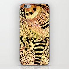 Elephant Butterfly Collection iPhone & iPod Skin