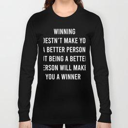 Winning Long Sleeve T-shirt