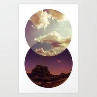 Desert to Sky Art Print