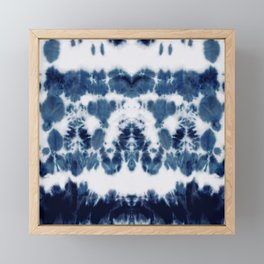 Shibori Not Sorry Framed Mini Art Print