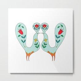 lovebirds12 Metal Print
