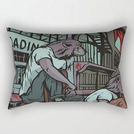 Them City Wolves Rectangular Pillow