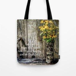 Summer Thankfulness Tote Bag