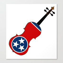 Tennessee State Fiddle Canvas Print