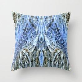 Winter Mountainous Landscape-3 Throw Pillow
