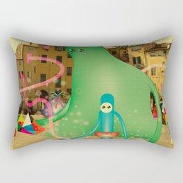 LuCCA è AbiTAtA dai MostRi Rectangular Pillow