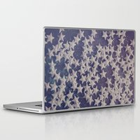 starry night Laptop & iPad Skins featuring Starry Starry Night (1) by Karin Elizabeth