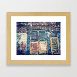 Bogota by day Framed Art Print