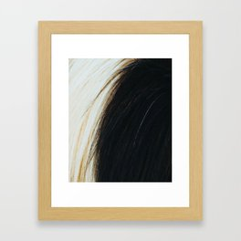 Gypsy Horse Mane rustic decor Framed Art Print