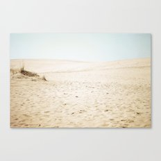 Morning Dunes Canvas Print
