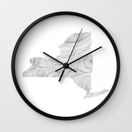 The State of Things: New York Wall Clock
