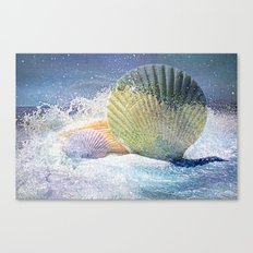 Subtle Sea Splash Canvas Print