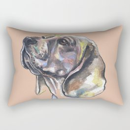 Lovely Beagle - by Fanitsa Petrou. Rectangular Pillow
