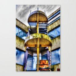 UrbEx - Broken Staircase. Canvas Print