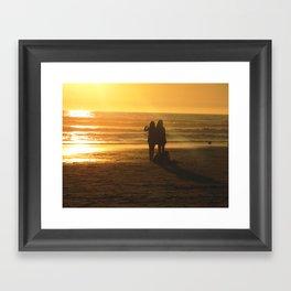 FRIENDSHIPS Framed Art Print