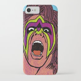 ultimate warrior iPhone Case