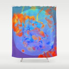 The Glitch Hiatus 02 Shower Curtain