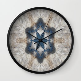 Ice Water Wall Clock
