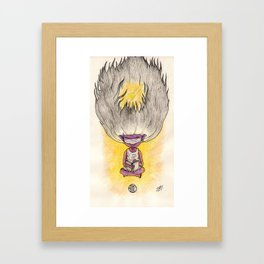 Thought In Space Framed Art Print
