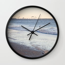 Birdy Beach  Wall Clock